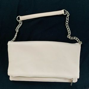 Express clutch bag never used.